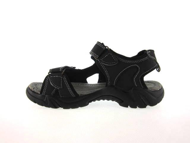 Sandały sportowe młodzieżowe czarne KM-7201