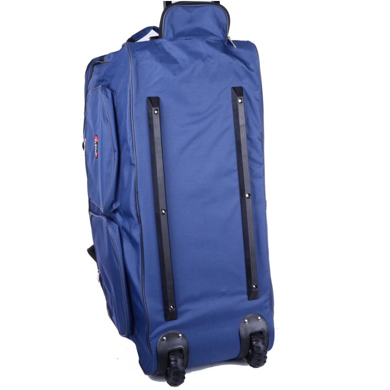 Torba podróżna na kółkach 80x47x38 Duża Niebieska 1076