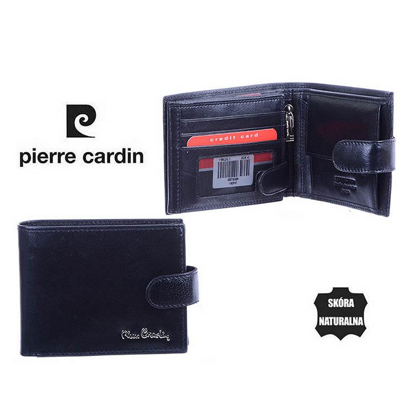 16e8e28021bc6 Portfel męski skórzany Pierre Cardin RIFD YS520 324A Czarny 2j.jpg ...