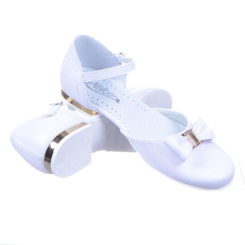 6c63430977 Buty Komunijne dziewczęce Miko 672 biało złote  tanie