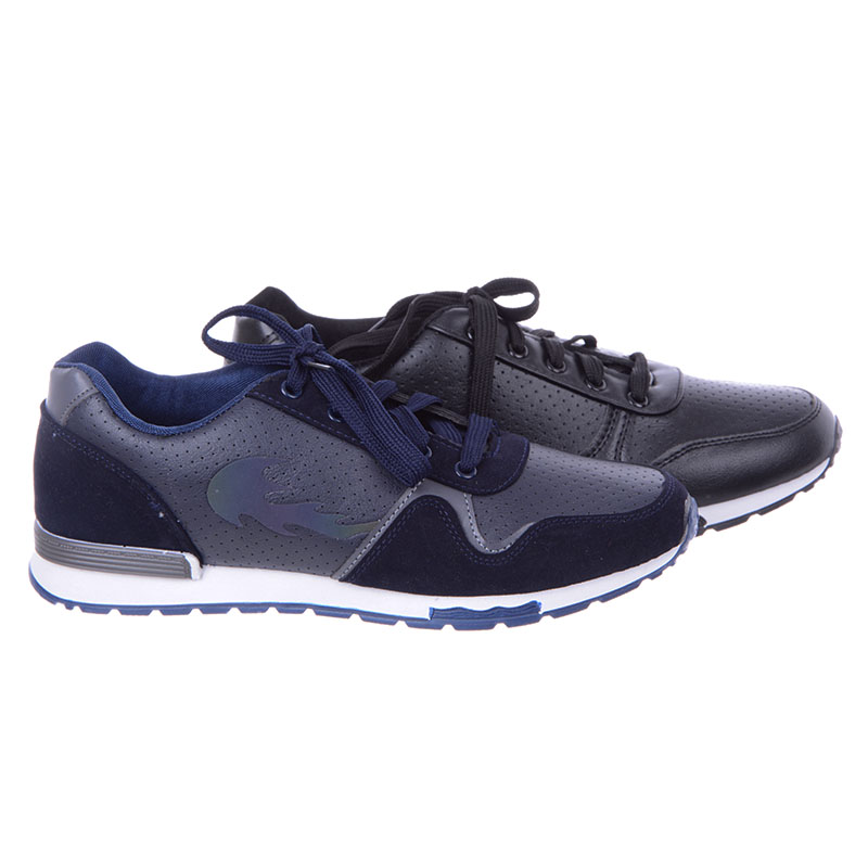 Buty sportowe męskie modne tenisówki i trapery