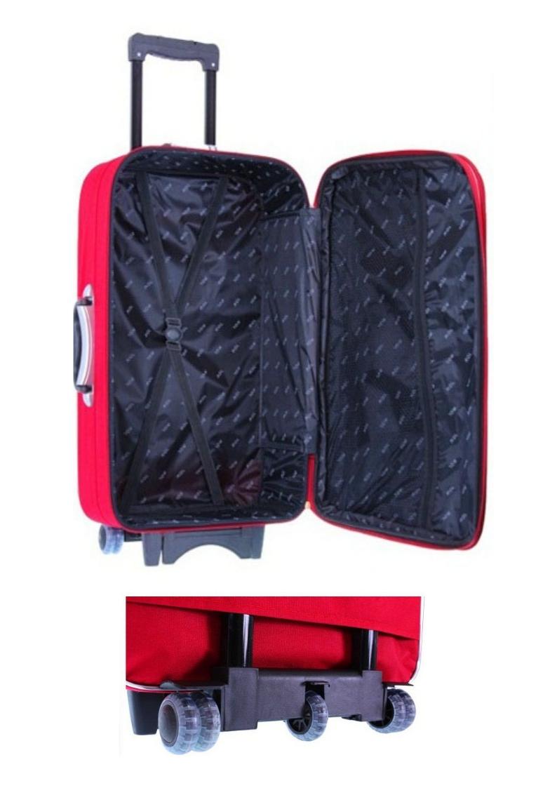 ba0450f77f34c Walizka kabinowa Ryanair Wizzair 55x40x20 bagaż podręczny 773 L ...
